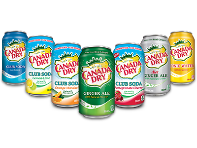 Canada Dry Group Shot