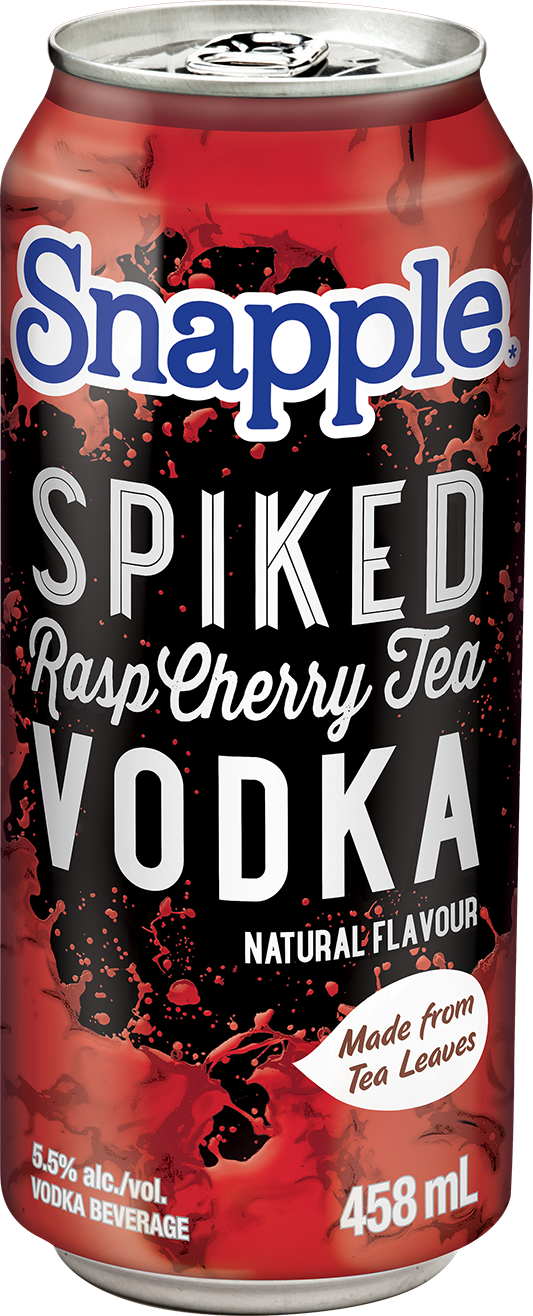 Snapple Spiked Rasp Cherry Tea
